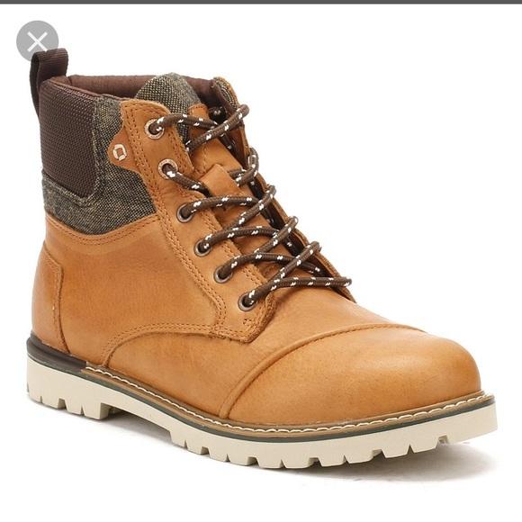 e44597a1ee2 BNWT Toms Ashland Dark Toffee Boots Sz 8